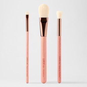 Luxie 3 brush set